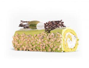 Green tea cake from Suzuya